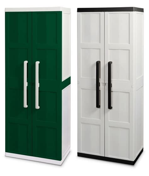 hdx plastic storage cabinets outstanding hdx utility cabinet home depot creative