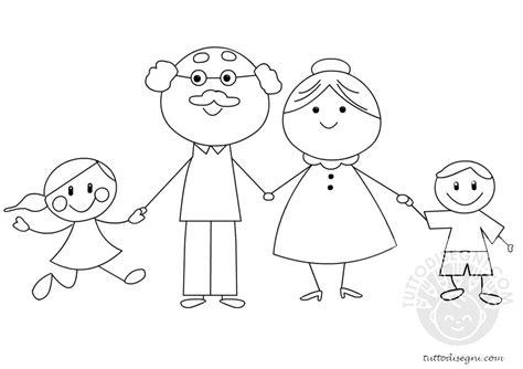sespo e rosalba disegni da colorare nonni e nipoti da colorare tuttodisegni