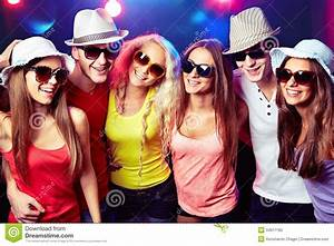 Young people at party. stock image. Image of motion ...
