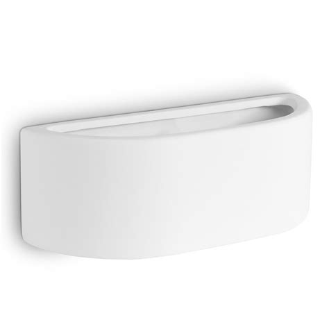 contemporary modern curved white ceramic up indoor