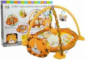 Spielzeug Für Babys : krabbeldecke 30 b lle 4 bunte anh nger l we set spielzeug ~ Watch28wear.com Haus und Dekorationen