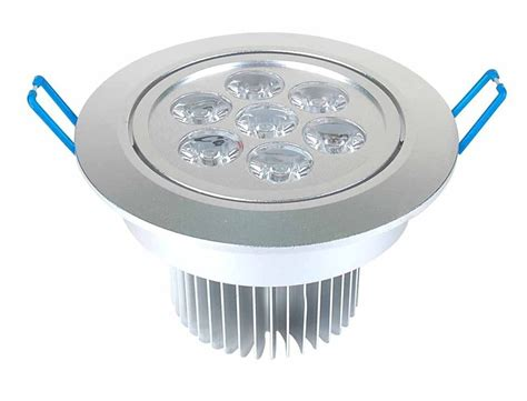 led recessed can light fixture ledquant 7 watt dimmable recessed led lighting fixture