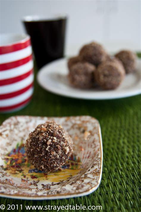 Mandarin Chocolate Truffles   Recipe   Strayed from the Table