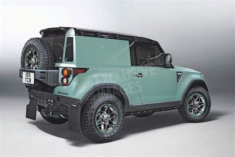 New Land Rover Defender family warms up   pictures   Auto