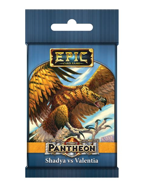 Comprar Epic Card Game: Pantheon - Shadya vs Valentia