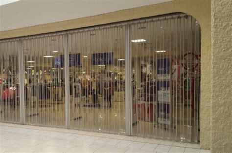 side folding full enclosure security grilles