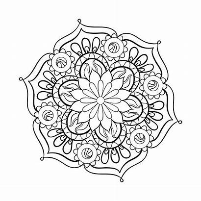 Coloring Adults Adult Mandala Pages