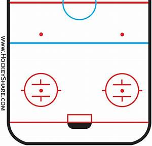 Blank Ice Rink Diagram