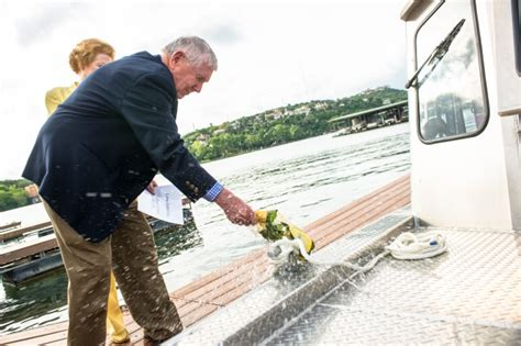 How To Christen A New Boat by The Jackson School Sets Sail In New Research Vessel