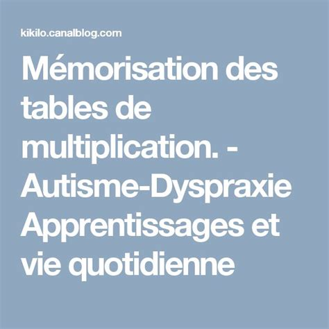1000 id 233 es sur le th 232 me l apprentissage des tables de multiplication sur tables de