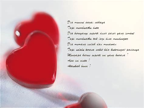 kumpulan puisi cinta romantis  puisi cinta  kekasih kata mutiara  cinta