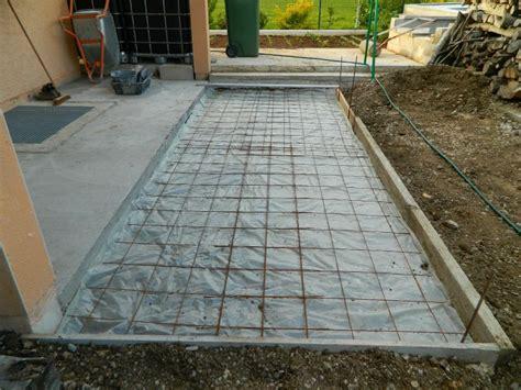 comment faire une dalle beton pour abri de jardin comment faire une dalle en b 233 ton pour terrasse couler une dalle b 233 ton