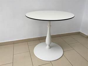 Tisch Rund 120 Cm : tisch rund barockstyle tisch wei bistrotisch rund wei durchmesser 80 120 cm ~ Indierocktalk.com Haus und Dekorationen