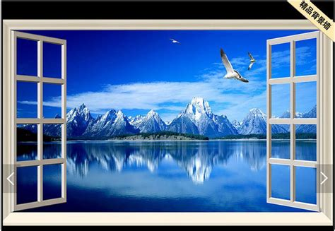 customized  wallpaper  tv wall paper murals scenery