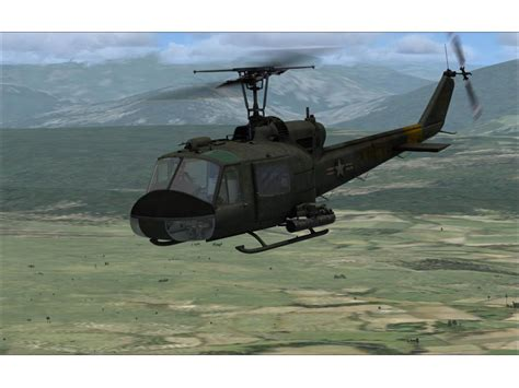Bell Uh 1 'huey For Fsx