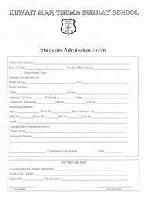 Amazing school registration form template images resume for High school registration form template