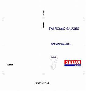 Yamaha 6y8 Multifunction Meter Operation Manual