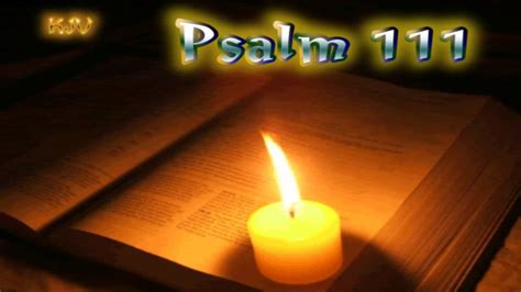 psalm  holy bible kjv youtube
