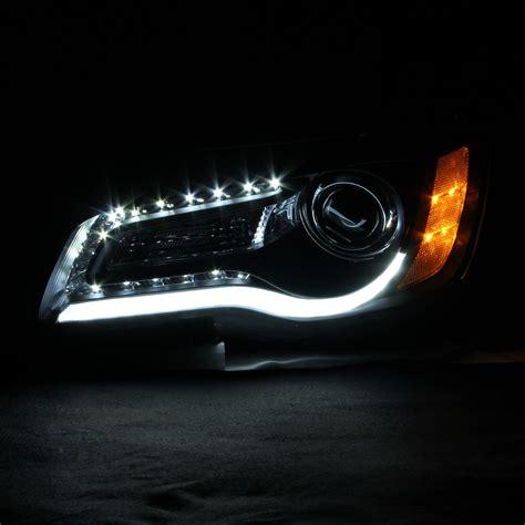 Chrysler 300 Hid Headlights by Hid Xenon 2011 2014 Chrysler 300 Halogen Model Led Drl