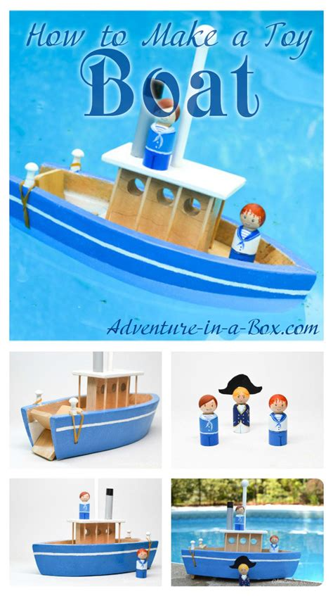 How To Build A Boat Toy by Build A Wooden Toy Box