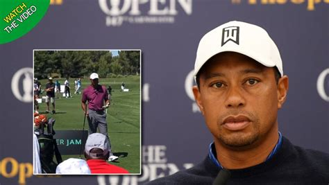 Tiger Woods fights back the tears to hail 'unbelievable ...