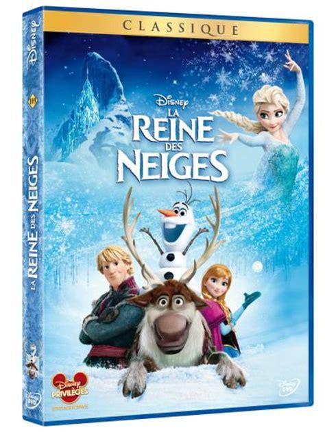 la reine des neiges la reine des neiges dvd coffret dvd