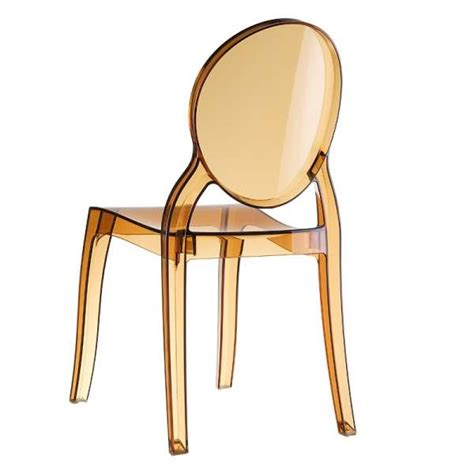 chaises polycarbonate chaise de style en polycarbonate transparent elizabeth