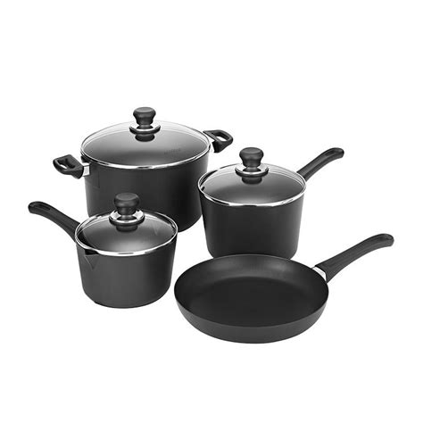 frypan dutch saucepans oven scanpan 4pc classic australia cookware