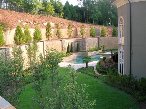Landscape Backyard Design Ideas by Landscaping Ideas For An L Shaped Garden Hgtv