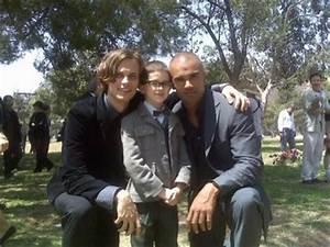 Matthew Gray Gubler, Shemar Moore, and MiniReid - Matthew ...