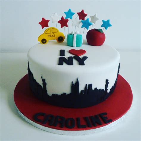 New York City Cake  Cakes By Siobhan Cakes By Siobhan