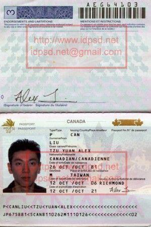 template canada passport psd wwwidpsdnet passport