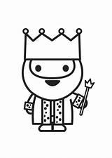 King Coloring Printable sketch template