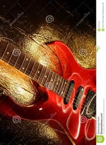 Music Abstract Guitar Art Paintings