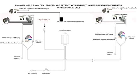 Tundra Led Headlight Wiring Info With Diagrams Page