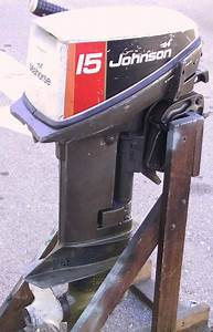 15hp Johnson Outboards Omc For Sale
