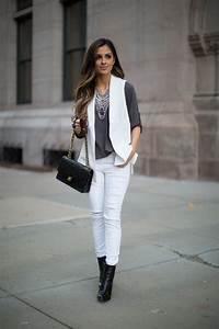 White Vest Layer. - Mia Mia Mine  White
