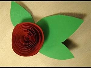 Basteln Mit Papier Anleitung : rosen basteln mit papier anleitung zum blumen basteln basteln ideen youtube ~ Frokenaadalensverden.com Haus und Dekorationen