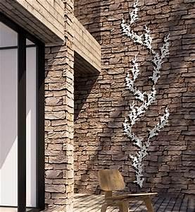 habiller un mur exterieur habiller de bois un mur ext With trompe l oeil exterieur jardin 2 enrichir la decoration de son jardin avec du treillage