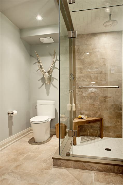 bathroom tile color combinations gorgeous teak shower bench in bathroom transitional with
