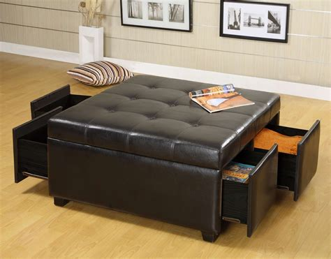 Surely, the idea of having an ottoman coffee table may not occur in your mind. 12 Round Brown Ottoman Coffee Table Inspiration