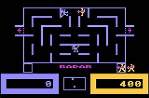Game review: CBS Electronics Wizard of Wor for #Atari 5200