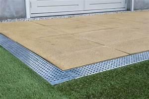 marlux lance hydrorock des blocs d39infiltration 100 With drainage autour d une terrasse