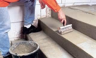 Betontreppe Außen Streichen by Haus Bauen Geflieste Treppe Streichen