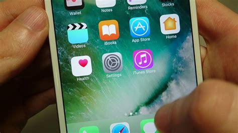 how to move app icons on iphone iphone 7 how to move apps icons ios 10