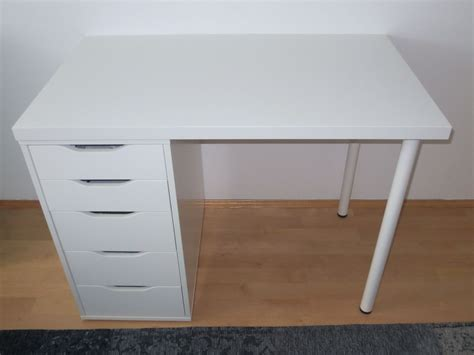 Gebraucht Ikea Tisch Mit Schubladen