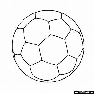 Free coloring pages of nike soccer ball
