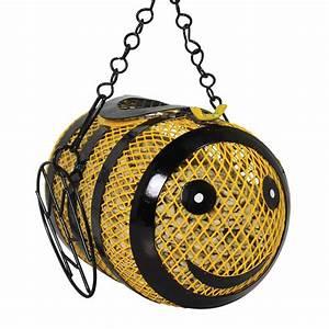 Duncraft Com  Bumble Bee Fun Sunflower Feeder