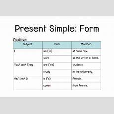 F2f Present Simple