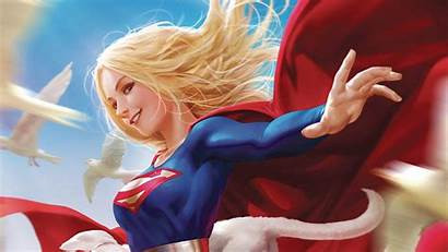 Supergirl Dc Comics Profile 4k Background Covers